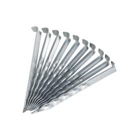 CAMPZ Peg wavy 18cm, silver